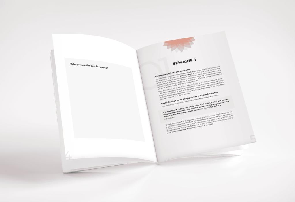 Création de livret Médit' à être La Marketerie agence web à Evian, Thonon et Annemasse