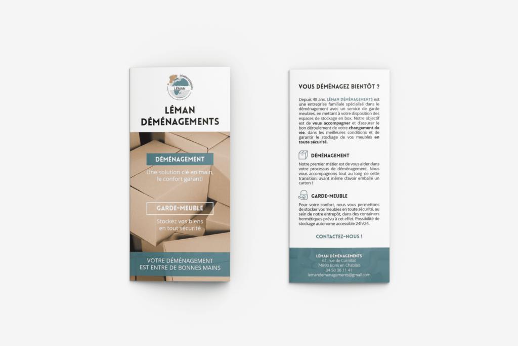 Impression de brochure CH4 Système La Marketerie agence de communication à Evian, Thonon et Annemasse