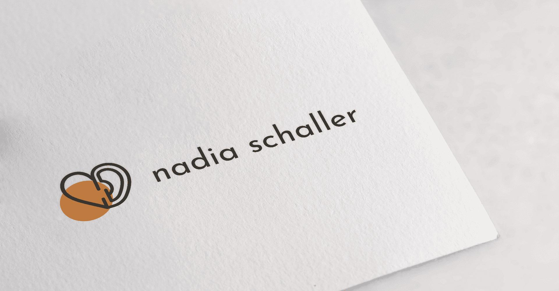 Réalisation de support papier Nadia Schaller La Marketerie agence web à Evian, Thonon et Annemasse