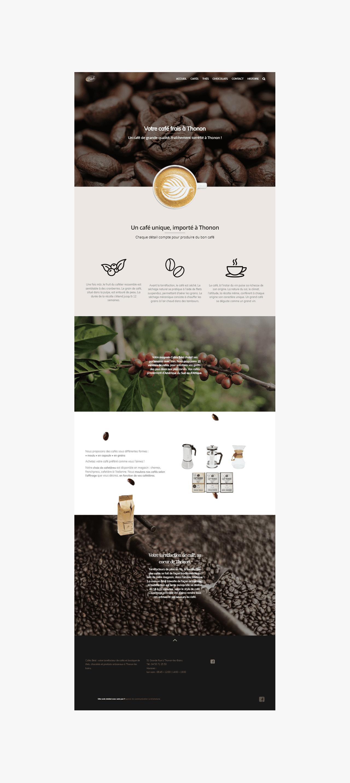 Rédaction de contenu pour le web Café Béal La Marketerie à Evian, Thonon et Annemasse