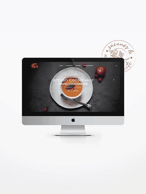 Réalisation de site internet Artisan Conserveur La Marketerie à Evian, Thonon et Annemasse