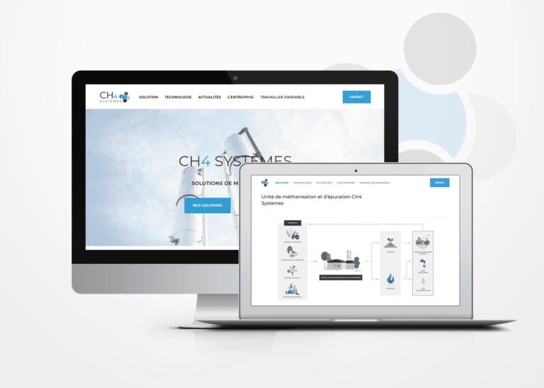 Référencement de site internet CH4 Système La Marketerie à Evian, Thonon et Annemasse
