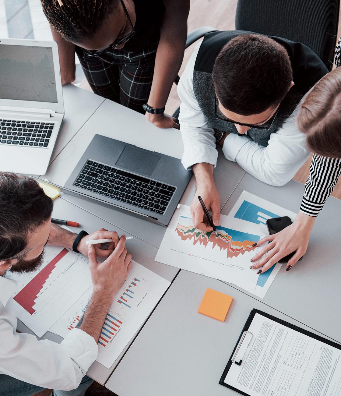 Audit, conseil et accompagnement La Marketerie agence de communication à Evian, Thonon et Annemasse