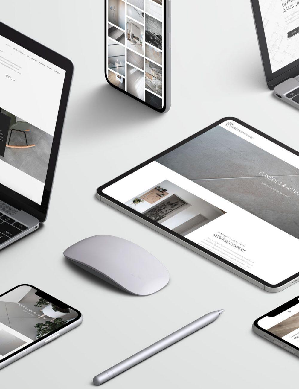 Refonte de site web La Marketerie à Evian, Thonon et Annemasse